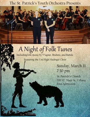 Night of Folk Tunes Poster jpg version